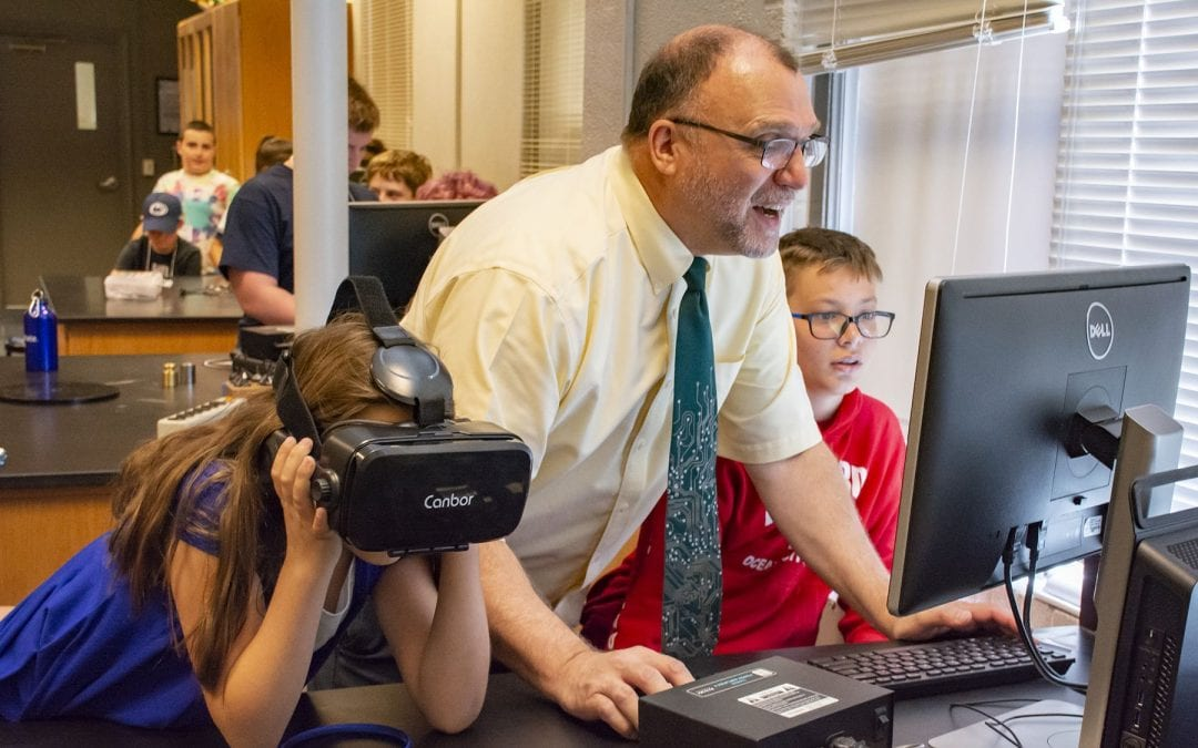 New course at Lehigh Valley, Schuylkill campuses gives students the power to create interactive, virtual worlds
