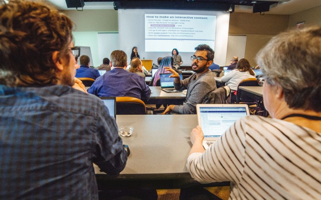Faculty share their innovative ideas to engage students at Canvas Day 2019