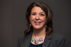 head shot of Jennifer Sparrow, associate vice president for teaching and learning with technology
