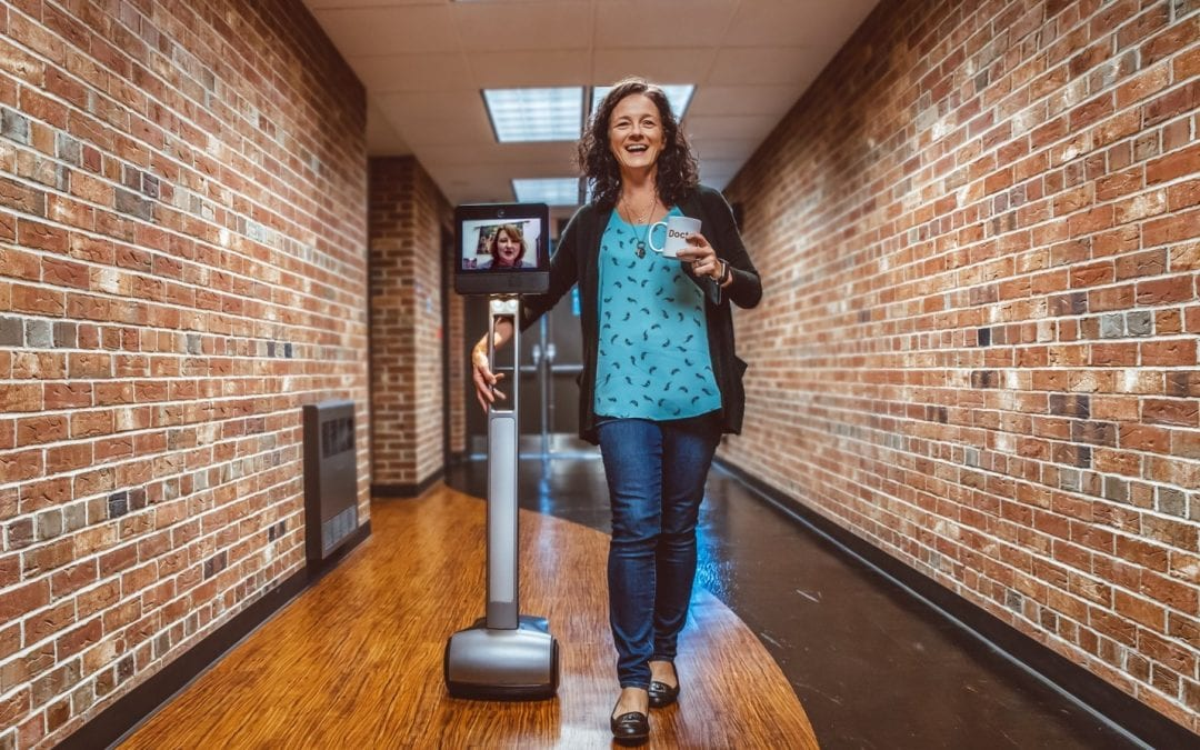 Robot technology helps connects students and faculty across Penn State campuses