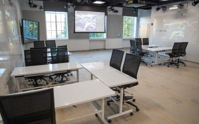 Visit the Center for Pedagogy in Arts and Design's teaching lab open house