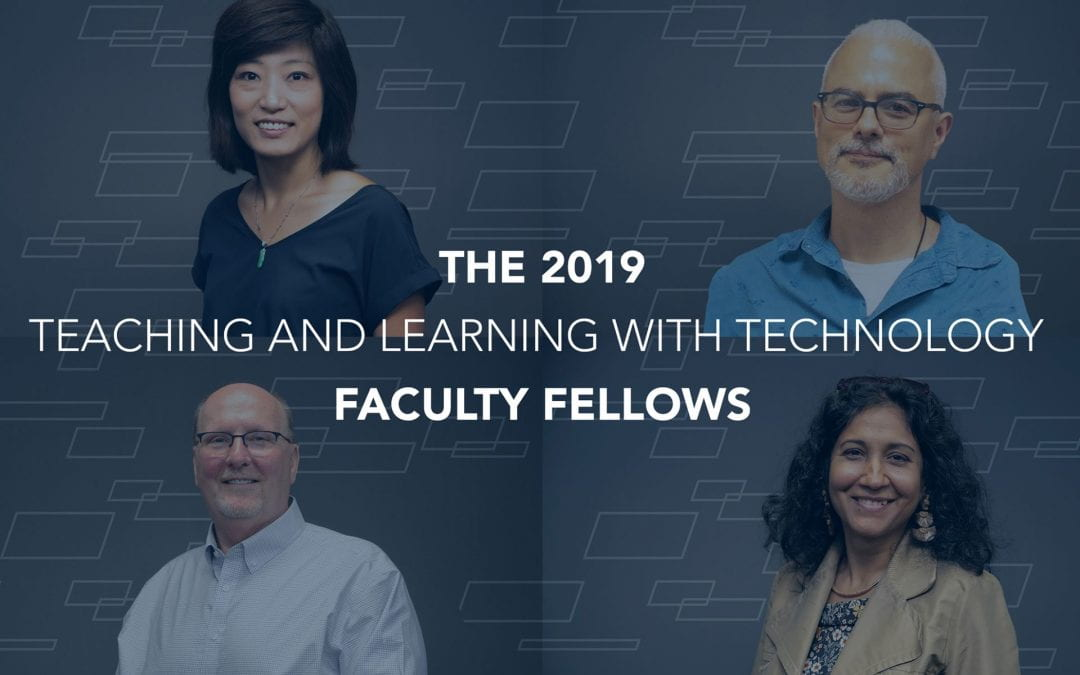 Newest Teaching and Learning with Technology Faculty Fellows focus on learning spaces
