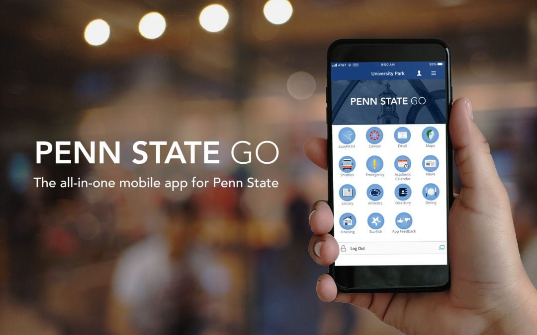 Penn State Go: The official all-in-one mobile app is coming spring 2020