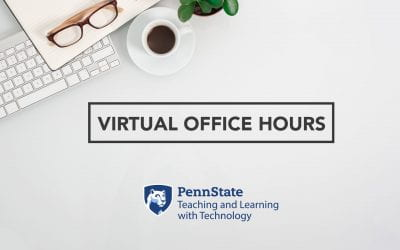 TLT virtual office hours for the week of March 30, 2020