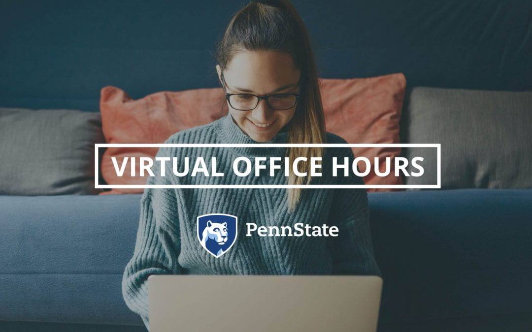 The Schreyer Institute for Teaching Excellence (SITE) and TLT team up to offer virtual office hours