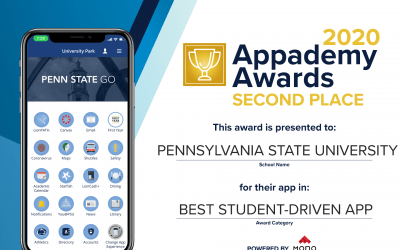 Penn State Go Receives Second Place at Appademy Awards for Best Student-Driven App